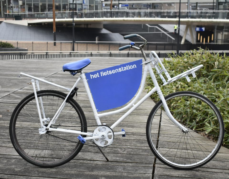 Nieuws Foto Blue is the new Black fiets
